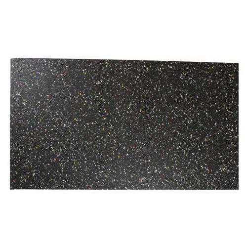 8501-1/16F Recycled Rubber, 1/16 In Thick, 12x48 In