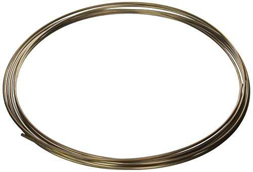 SUR&R Auto BREZ100 3/16 in. 25 ft. UltraBend Brake Line Tubing