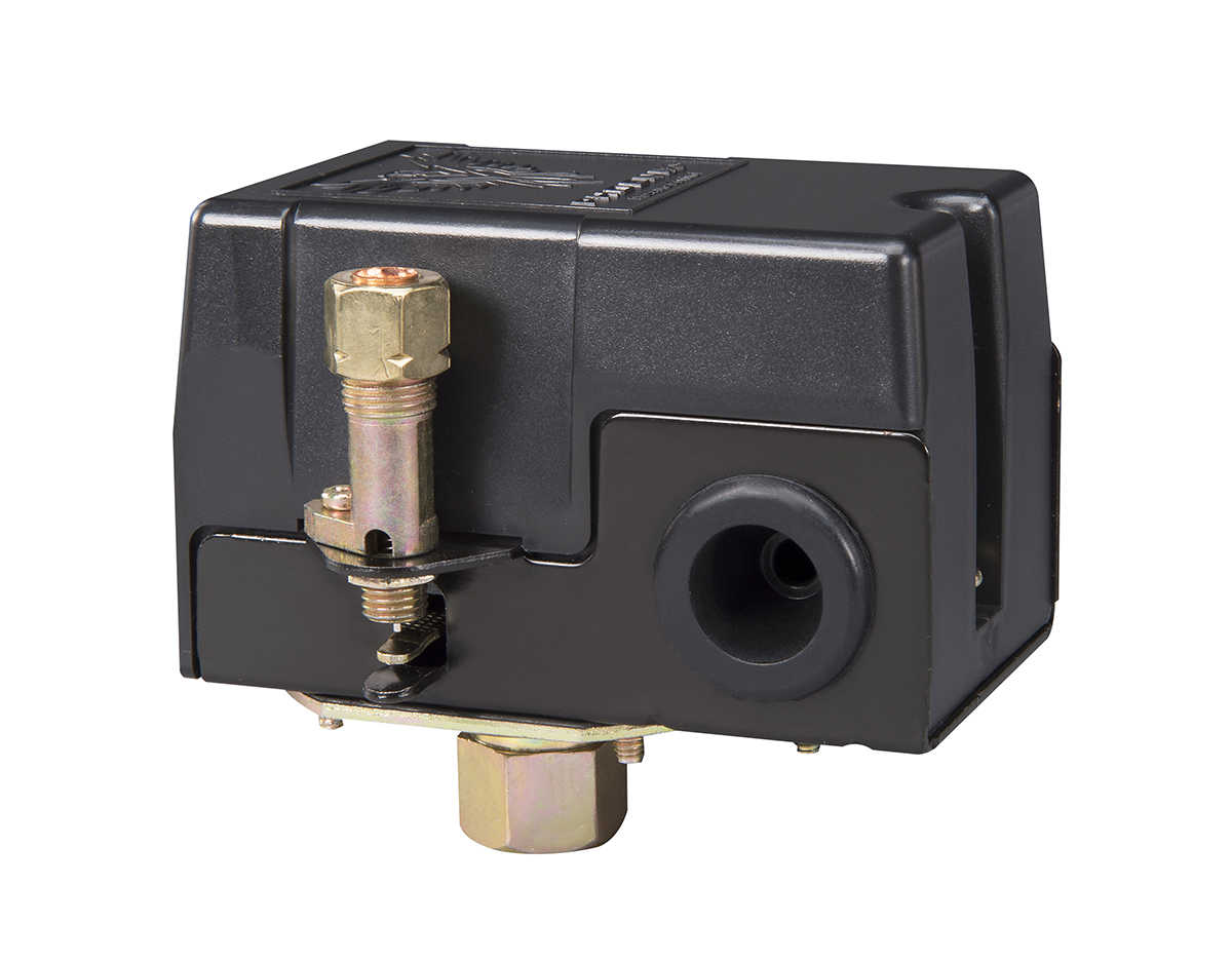 Phoenix Pressure Control 69MB8LY 115/150 PSI 1-Port Air Compressor Switch w/ Unloader Valve & Auto/Off (Furnas type)