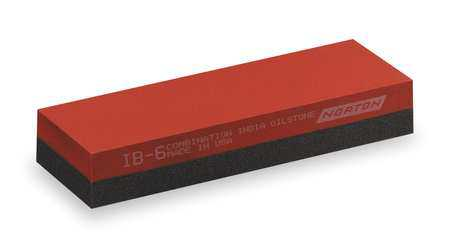Norton 61463685560 Soft Arkansas Combination Grit Sharpening Stone