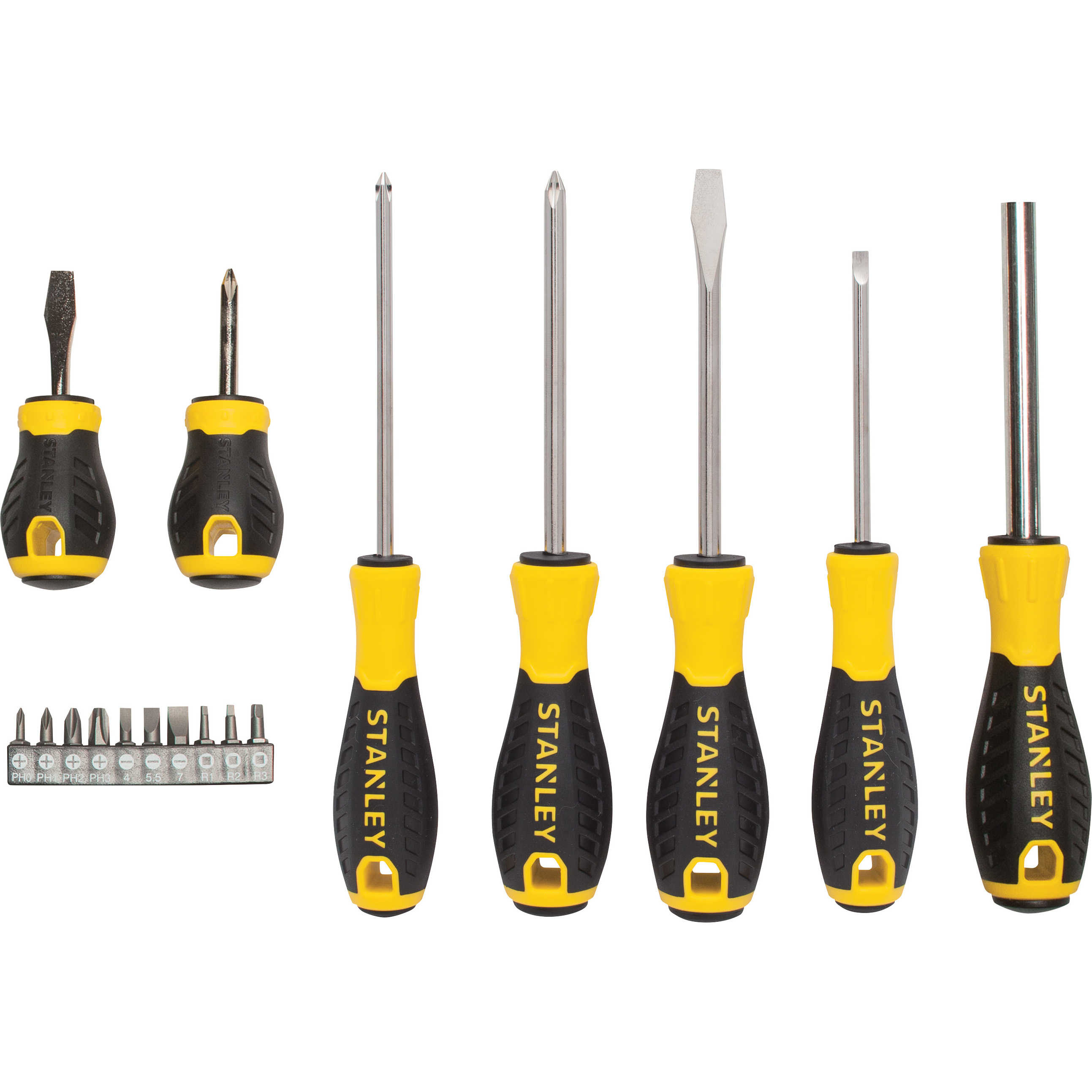 Stanley STHT66598 17 Piece Control Grip Screwdriver Set
