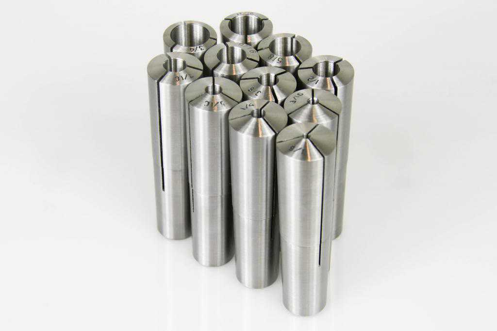 #9 Brown & Sharpe Taper Collet 11 Pc Set 1/8-3/4' X 16Ths 1/4,3/8,1/2,5/8 & More
