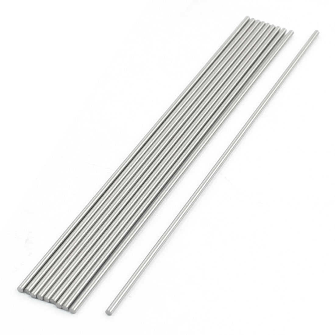 Unique Bargains 10 Pcs 1.3mm x 100mm HSS High Speed Steel Turning Bars for CNC Lathe