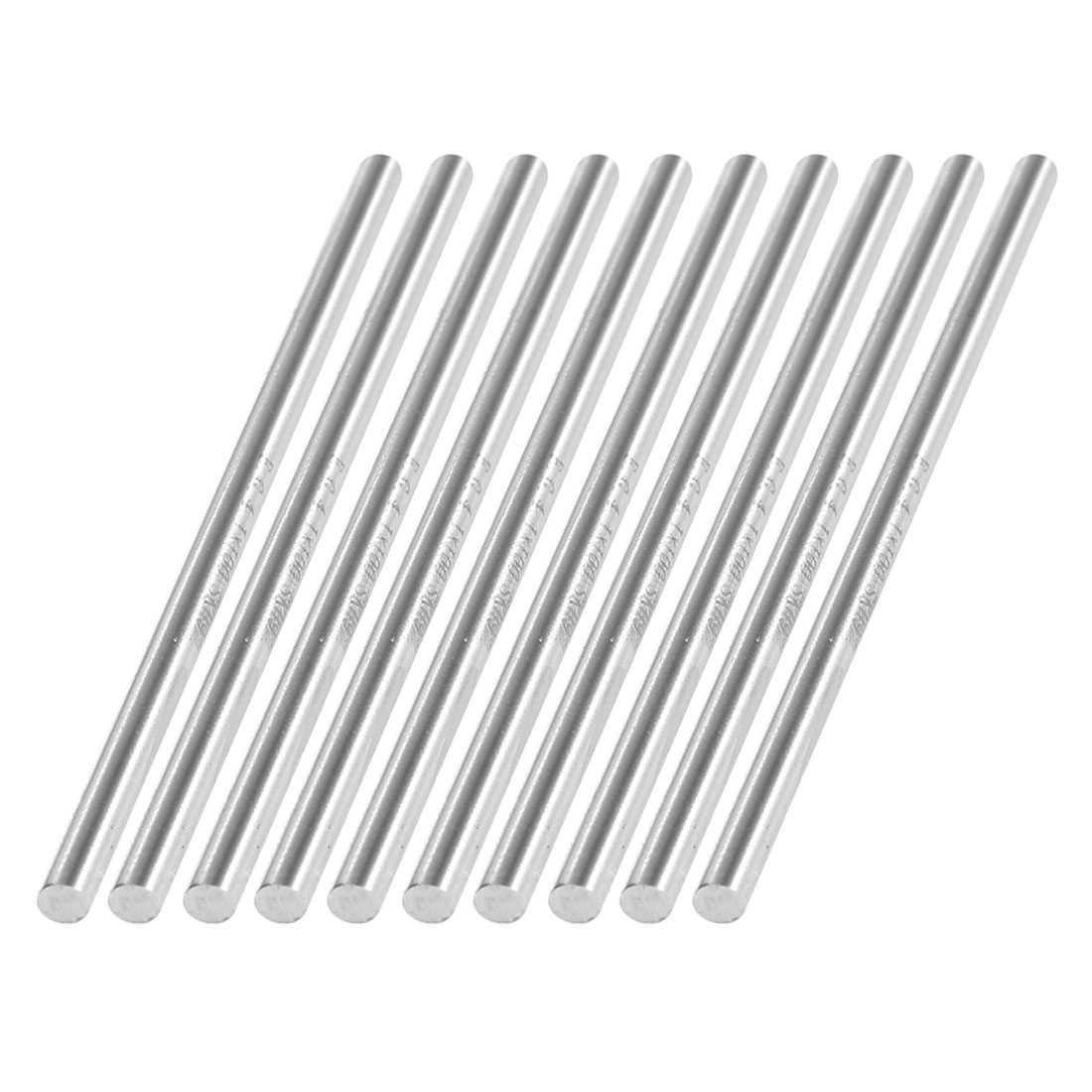 Unique Bargains 4.1mm x 100mm HSS Graving Tool Round Turning Lathe Carbide Bars Stick 10pcs