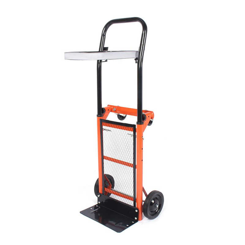 176lbs Foldable Stair Climber Hand Truck Dolly Heavy Duty Truck Cart