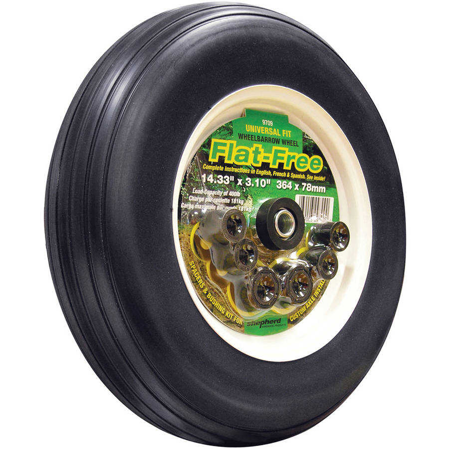Shepherd 9709 14' Flat Free Replacement Tire