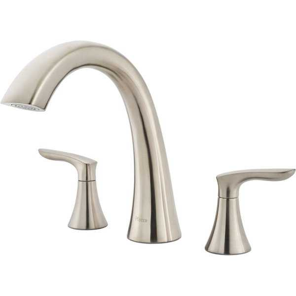 Pfister RT6-5WR Weller Deck Mounted Roman Tub Faucet Trim with Lever Handles - Less Rough In Valve - N/A
