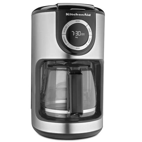 KitchenAid KCM1202 12-cup Glass Carafe Coffee Maker
