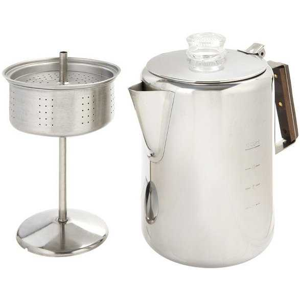 Tops 412 Rapid Brew Stove Top Percolator, 2-12 Cup