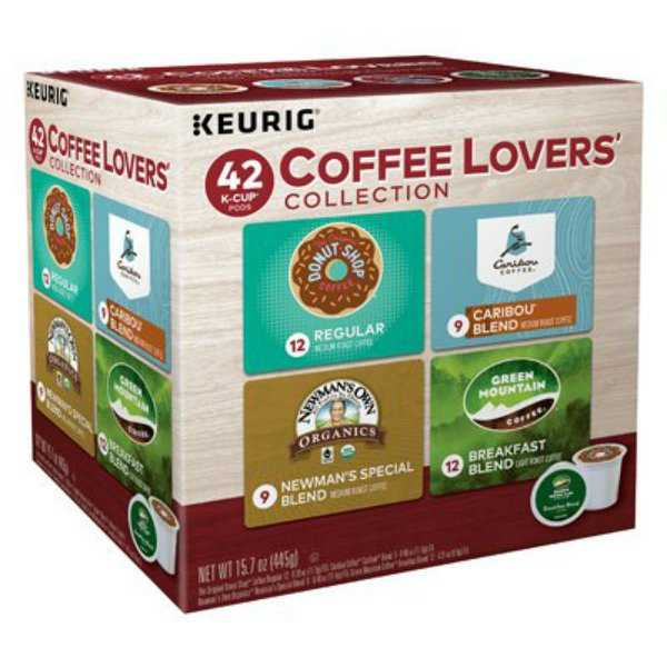 Keurig 121655 Coffee Lovers Collection Single Serving K-Cup, 42-Count